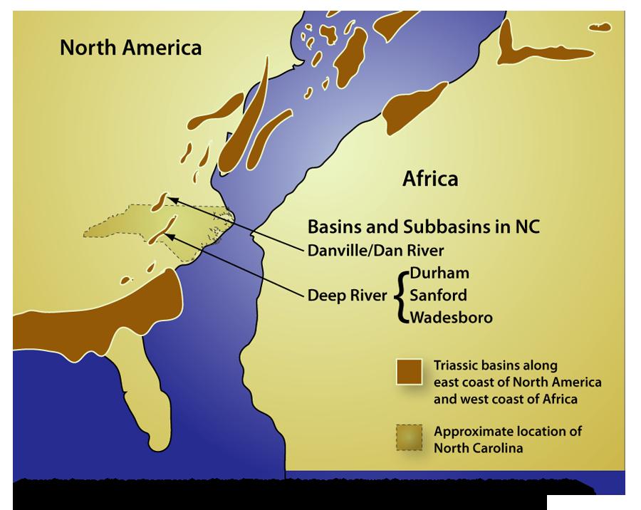 Rift Basins In Nc
